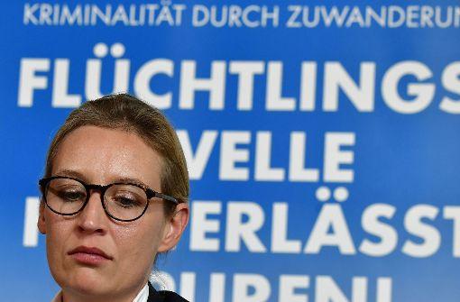 Alice Weidel outet sich als homosexuell