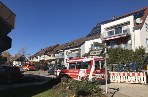 13 Häuser wegen Gasaustritt evakuiert