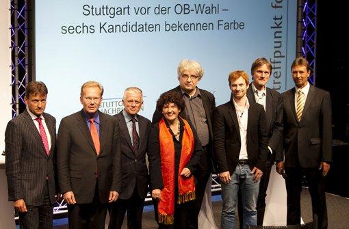 OB-Wahl: Treffpunkt foyer live auf stn.de