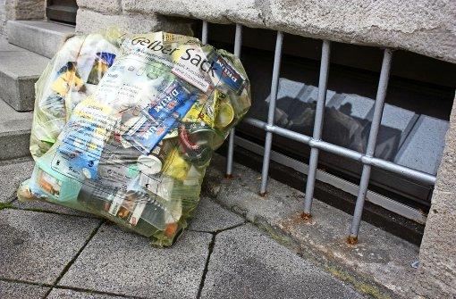 Ärger über nicht abgeholte Müllsäcke