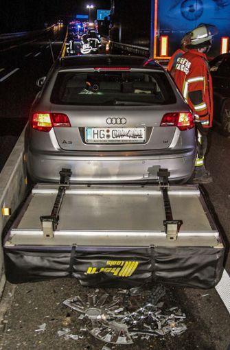 Beide Autos waren danach nicht mehr fahrbereit. Foto: SDMG
