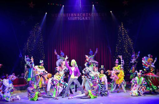 Russisches Ballett beim Weltweihnachtscircus.  Foto: Lichtgut/Max Kovalenko