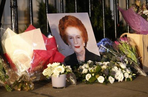 Trauerfeier für Margaret Thatcher