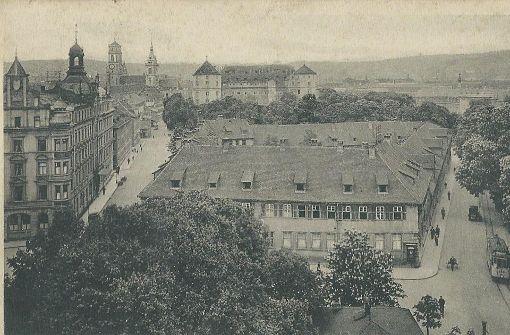 Das Alte Waisenhaus am Charlottenplatz  Foto: Sammlung Wibke Wieczorek