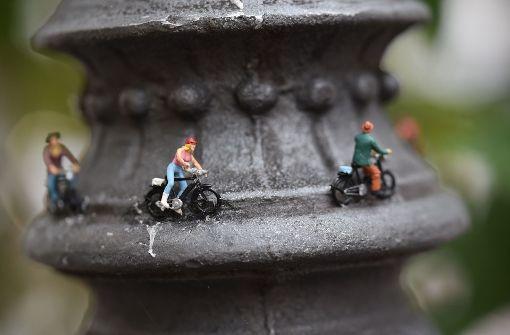 Miniatur-Tour zu Guerilla-Kunst