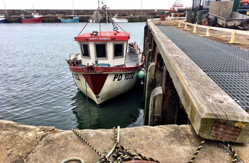 Der Hafen von Arbroath war einmal ein Zentrum der Hochseefischerei. Heute machen dort nur noch wenige Kutter fest.  Foto: Krohn
