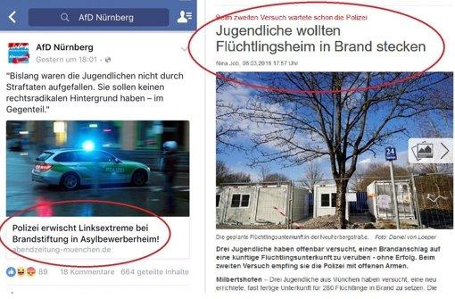 AfD in Nürnberg fälscht Schlagzeile
