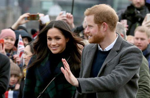 Prinz Harry und seine Verlobte Meghan Markle sind zu Besuch in Schottland. Foto: PA Wire