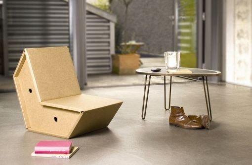 Möbel aus Pappe: Innovativ, schick, umweltfreundlich - Bauen ...