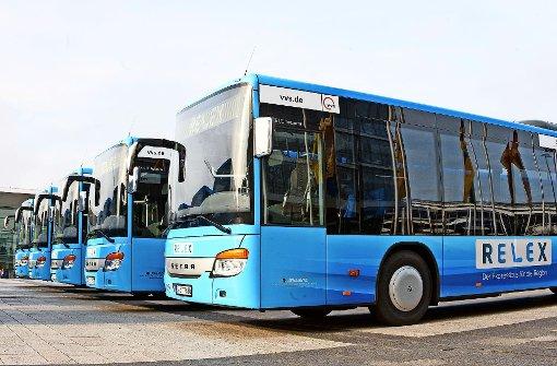 Region stellt Relexbusse vor