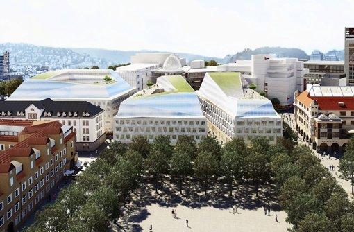 Investor und Experten stellen neue City vor