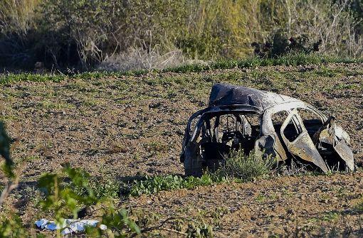 Maltesische Journalistin bei Anschlag ums Leben gekommen