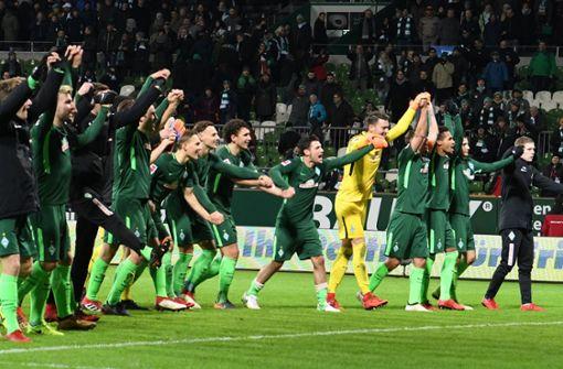 Bremer Befreiungsschlag gegen Wolfsburg