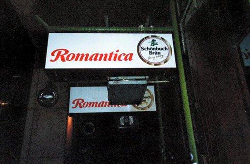 Die Bar Romantica macht dicht