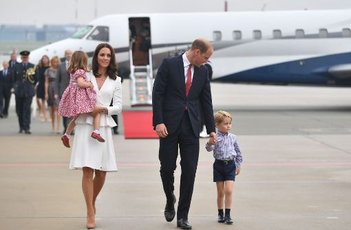 Auf die Kinder von Kate und William werden die Tausenden Besucher am Donnerstag in Heidelberg wohl verzichten müssen. Foto: PAP