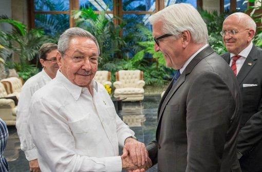 Steinmeier ermutigt Castro zu Reformen