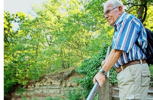 Karl Heinz Lessig     setzt sich fürs   Kotzenloch Foto: Lichtgut/Leif Piechowski