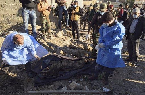 Massengrab in irakischer Stadt Ramadi entdeckt