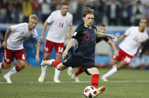 Kroatien siegt im Elfmeterkrimi gegen Dänemark