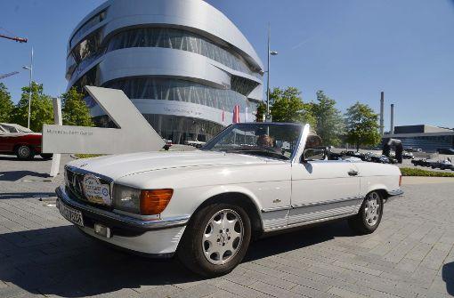 Stuttgart feiert sich und den Mercedes SL