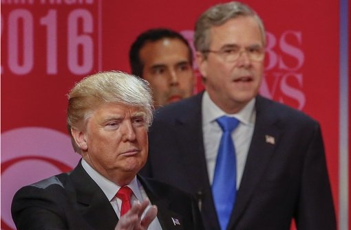Bisher heftigste TV-Debatte der Republikaner