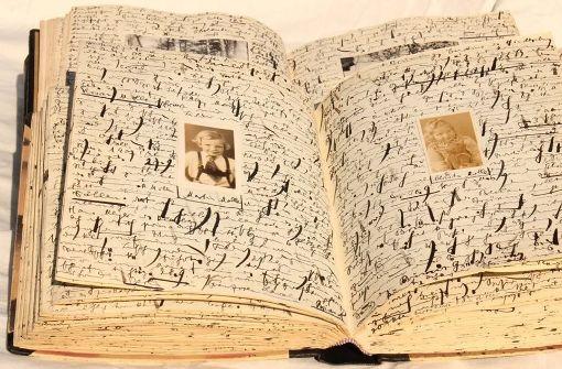 Eines von mehr als 13000 Tagebüchern, die in Emmendingen eingesehen werden können. Foto: Gerhard Seitz/DTA