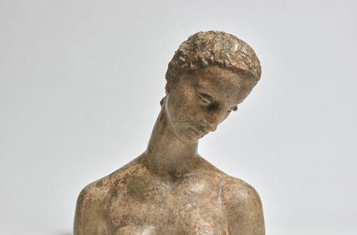 ... wie die Büste der Knieenden (1911) . .   Foto: Staatsgalerie Stuttgart