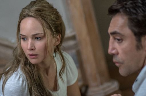 Jennifer Lawrence und Javier Bardem Foto: Verleih