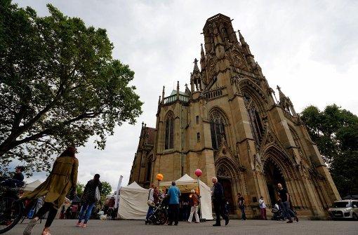 Von Donnerstag bis Sonntag wurde rund um die Johanneskirche gefeiert. Foto: 7aktuell.de