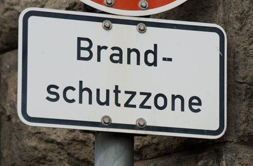 """""""Die Reise  zum Brandschutzkonzept ist noch lange nicht zu Ende"""", sagte  Branddirektor Frank Knödler im Stuttgarter Rathaus. Foto: dpa"""