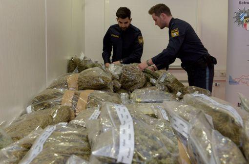Fahnder finden 117 Kilogramm Cannabis