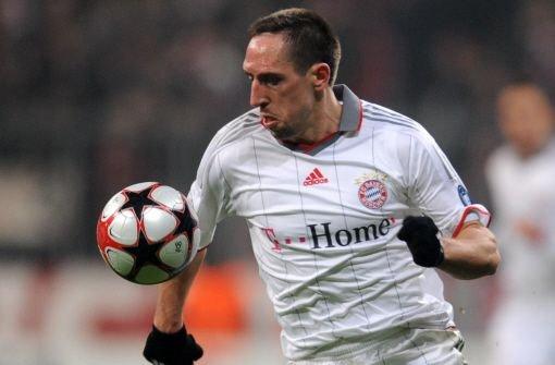 Ribéry lässt die Bayern zappeln
