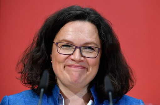 Andrea Nahles: Kein Sonderparteitag geplant