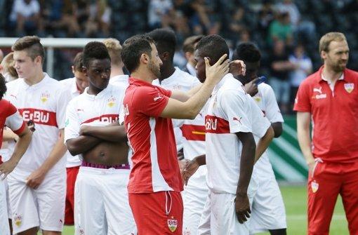 Die U17 des VfB Stuttgart verliert 0:4