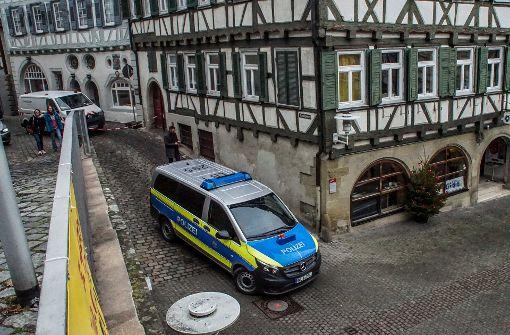 ...im Herrenberger Bürgeramt aufgetaucht. Foto: SDMG