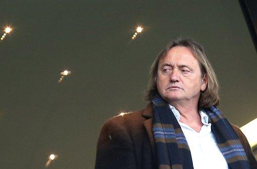 VfB-Aufsichtsratschef Martin Schäfer und sein Credo: Vertrauen muss man sich erarbeiten Foto: Baumann
