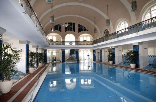 Das Merkel'sche Bad verzückt durch seine Jugendstil-Architektur, in der man das Mineral-Thermalwasser auf sich wirken lassen kann.  Foto: Pressefoto Horst Rudel
