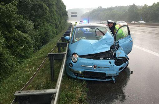 Wieder schwerer Unfall auf der A81
