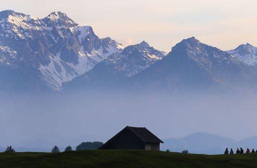 In den Allgäuer Alpen (Foto) ist eine Saarländerin ums Leben gekommen, in den Tiroler Alpen ein Mann aus Bayern. (Symbolbild) Foto: dpa