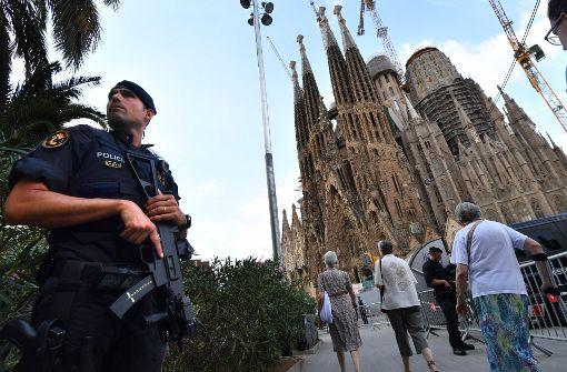 Trauerfeier beginnt in Sagrada Familia