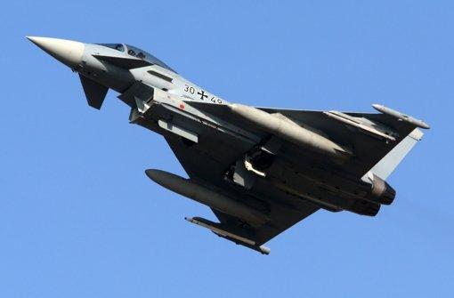 Zwei Jets des Typs Eurofighter mussten am Mittwoch aufsteigen, weil zu einem Airbus A300 der Funkkontakt abgebrochen war. Foto: dpa/Symbolbild