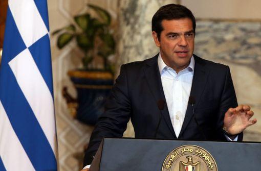 Griechenlands Regierungschef will die Phase hinter sich lassen, in der die Gläubiger Einfluss auf Entscheidungen des Landes nehmen. Foto: dpa