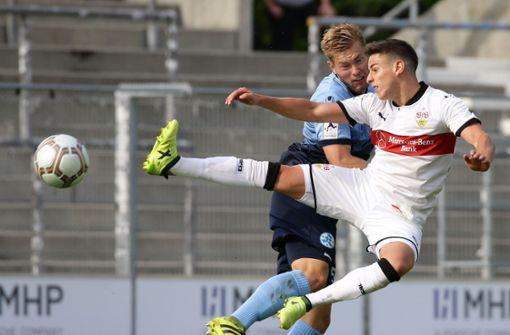 Derbyalarm auf der Waldau: Der VfB II trifft in der Regionalliga Süd auf die Stuttgarter Kickers. Foto: Baumann