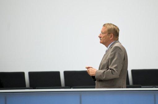 """Wolfgang Drexler nennt es """"fast einen Skandal"""", dass der Bundestag wichtige Unterlagen zum NSU nicht liefert. Foto: dpa"""