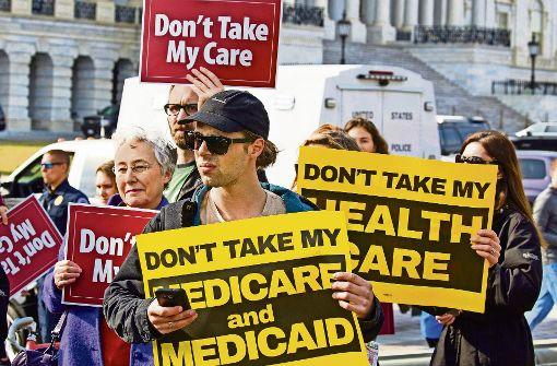 US-Repräsentantenhaus beschliesst Abschaffung von Obamacare