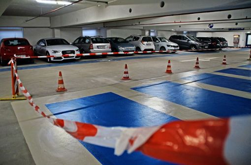 50 bis 80 Parkplätze fallen derzeit weg
