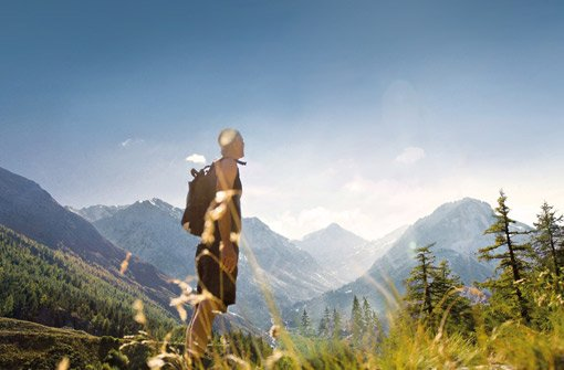 Ob Wandern oder Radfahren - in den Allgäuer Bergen ist für jeden etwas dabei. Foto: Panoramahotel Oberjoch