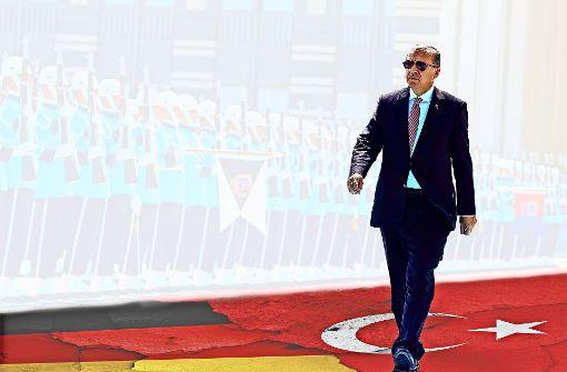 Der türkische Präsident Erdogan. Foto: pool Presidential Press Service