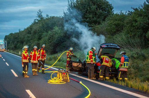Die Feuerwehr rückte mit 16 Einsatzkräften an. Foto: 7aktuell.de/Simon Adomat