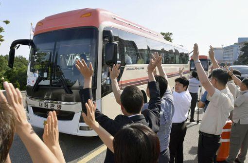 Südkoreaner treffen nach Jahrzehnten auf ihre Verwandtschaft